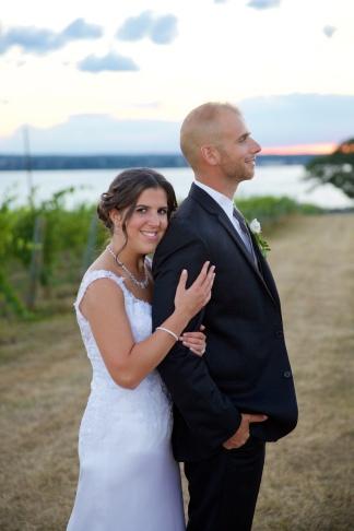 Ventosa Vineyards Finger Lakes Wedding Photographer B.Fotographic 081