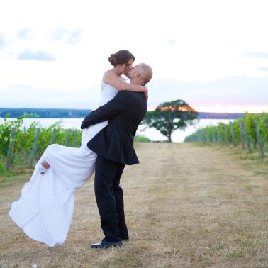Ventosa Vineyards Finger Lakes Wedding Photographer B.Fotographic 084