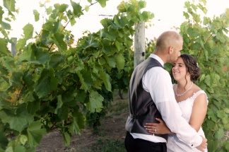 Ventosa Vineyards Finger Lakes Wedding Photographer B.Fotographic 090