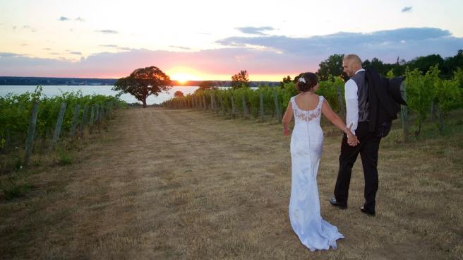Ventosa Vineyards Finger Lakes Wedding Photographer B.Fotographic 092