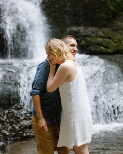Syracuse NY Waterfall Engagement Session B.Fotographic104