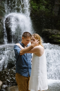 Syracuse NY Waterfall Engagement Session B.Fotographic105
