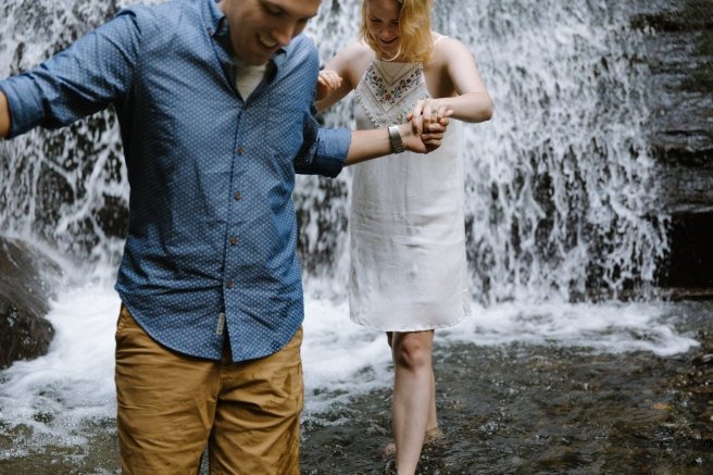 Syracuse NY Waterfall Engagement Session B.Fotographic116