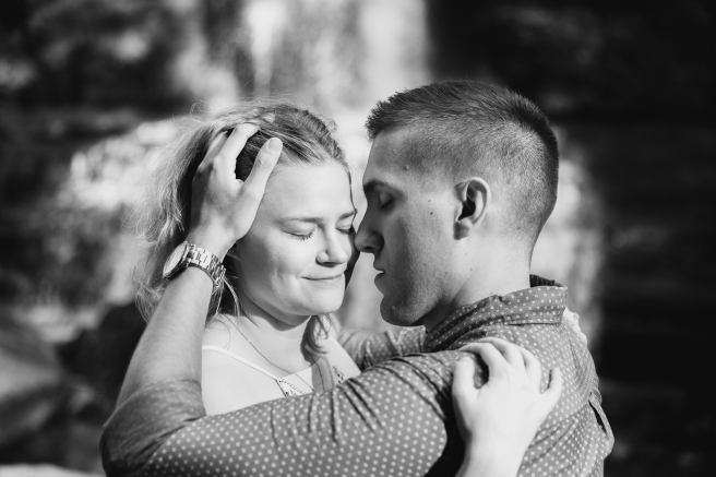 Syracuse NY Waterfall Engagement Session B.Fotographic39-2