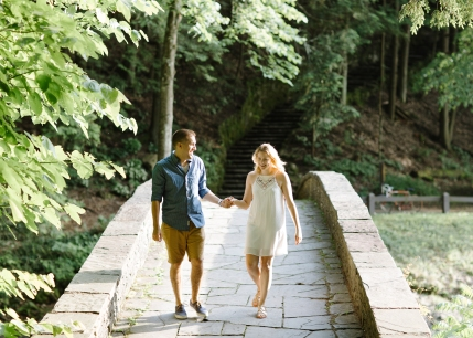 Syracuse NY Waterfall Engagement Session B.Fotographic60