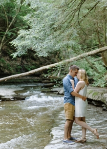 Syracuse NY Waterfall Engagement Session B.Fotographic76
