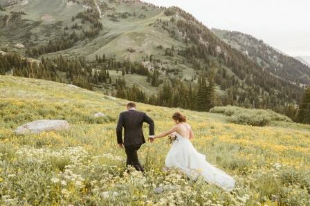 Alta Peruvian Lodge Mountain Adventurous Utah Wedding Photographer B.Fotographic-128
