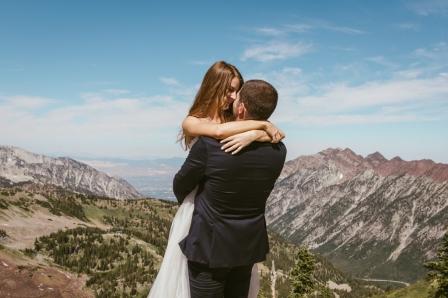 Alta Peruvian Lodge Mountain Adventurous Utah Wedding Photographer B.Fotographic-164