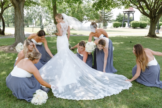 Best of Syracuse Wedding Photography B.Fotographic Oswego Bridesmaids Brides Dress1