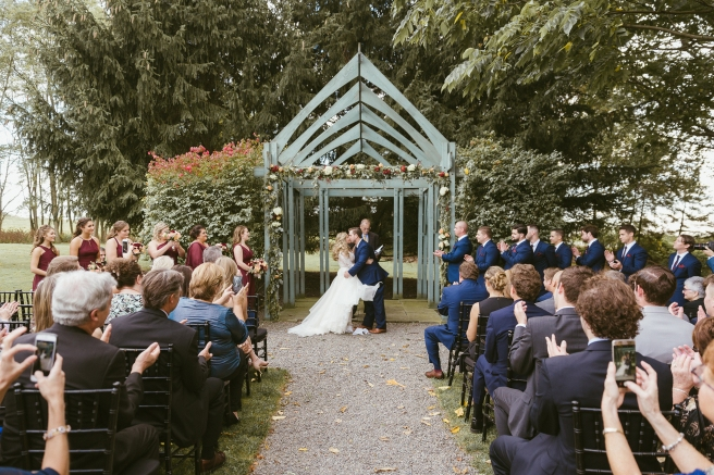 Best Wedding Photographer Outdoor Ceremony Arbor B.Fotographic1
